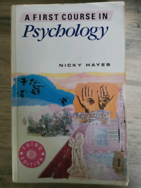 First course in Psychology book