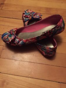 Multicoloured 9 1/2 flats