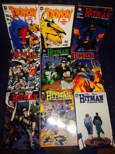 Hitman DC Comics Garth Ennis series -- complete all TPBs & minis