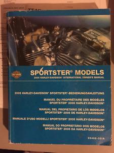 Harley Davidson Sportster Owners  Manual