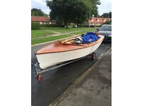 gp14 sailing/ racing dinghy may swap car/ motorbike