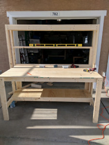 Custom sized workbench