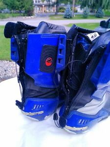 ALPINE STARS MOTORCYCLE RACE/RIDING BOOTS WITH INNER BOOT 45 Windsor Region Ontario image 2