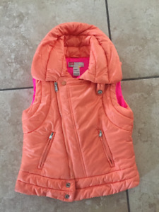 Girls Size 7/8 Vests and Coat