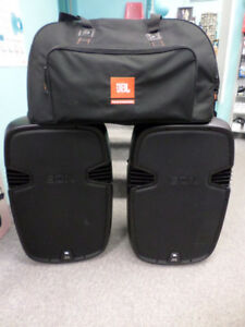 JBL EON 515XT powered speaker package (used)