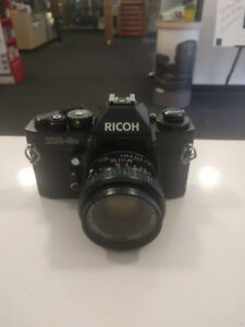 Ricoh XR-2s 35mm Film Camera with 50mm f2 Lens