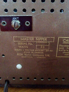 Antique Radio RCA Victor MASTER NIPPER Early 1940's Stratford Kitchener Area image 4