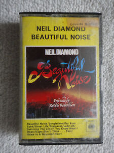 Neil Diamond - Beautiful Noise pre-recorded audio cassette tape