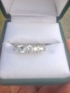 Two gorgeous diamond rings for sale .