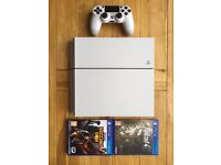 IMMACULATE CONDITION PS4 & GAMES