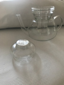 Princess House Glass Teapot/ coffee defuser $30.00 OBO