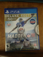Madden 16 Deluxe Edition Never Opened