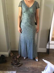 Mother of the Bride/Groom Dress Size 8-10 with accessories