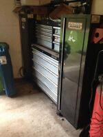 TWO TOOLBOX/TOOL CHEST SIDE LOCKERS