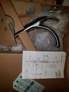 New Inbox Kitchen Faucet with Side Spray