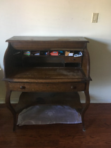 Antique Roll-top Desk