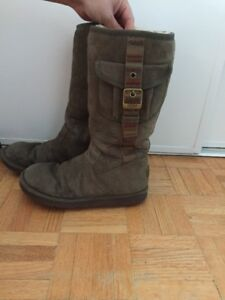 Army Green UGG Boots Sz. 7 $50