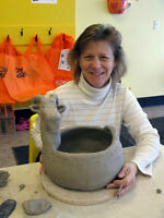 1-3 hour pottery workshops at Clay for Kids & Adults too!