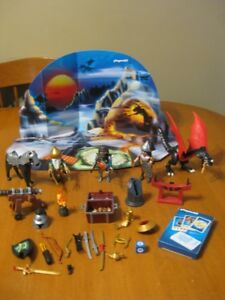 PLAYMOBIL ADVENT CALENDER DRAGONS TREASURE BATTLE