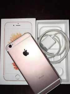 Rose gold iPhone 6s 32 GB
