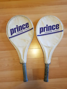 Two Prince Tennis Rackets $40 / Pair