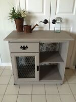 Refinished cabinet/buffet/ kitchen sideboard
