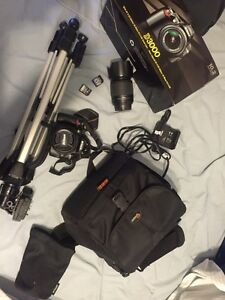Nikon D3000 and all accessories