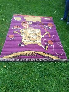 Brand new sponge bob area rug. 5'x7'