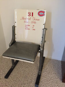 Montreal Forum Chairs