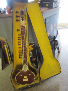 Sitar With Case For Sale