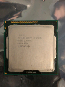 Intel® Core™ i5-2400S Processor  6M Cache, up to 3.30 GHz