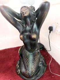 Mermaid side table