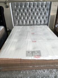 ex display wing double bed with 2inch memory oth mattress