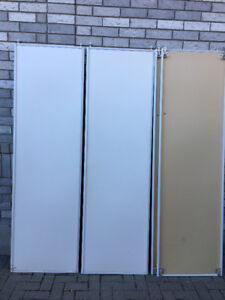 White Sliding Closet Door For Sale
