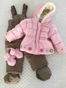 Girls Winter Coat & Pant Suit 26lbs
