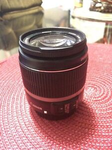 Canon  EFS 18-55 mm Lens w/ image Stabilizer