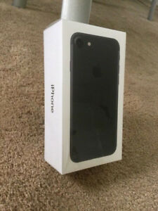 Brand New Iphone 7 Unlocked w/ Box and Charger & Apple Warranty