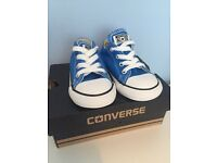 Toddler size 7 converse new in box