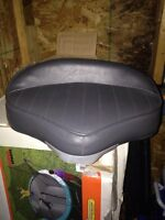 Bow boat seat and 15 inch post