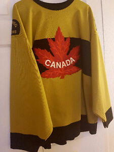 2004 World Cup of Hockey Team Canada Alternate Jersey XL