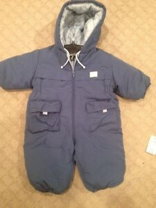 2 Boys zip up suit