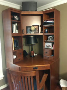 Corner Cherry Desk
