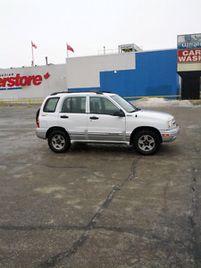 2002 Chevy tracker LXT