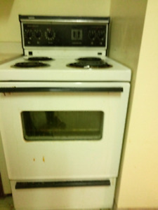 "24"" Apartment size stove / range"