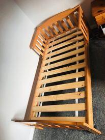 2 x Mothercare Pine Toddler Beds & Matresses