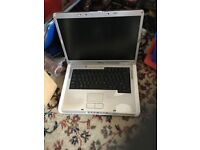 Dell Inspiron 6400 laptop, no charger, for spares or repair only, sell £25 or would swap