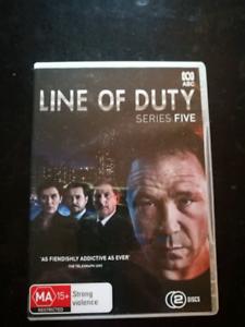 DVD - Line of Duty - Season 5 Northcote Darebin Area Preview