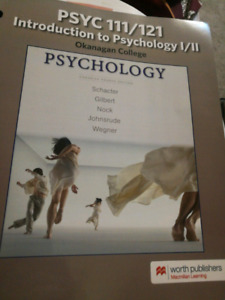 Psychology 111/121 fouth canadian edition launchpad