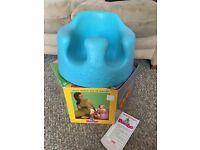 Aqua Bumbo Seat with Box Sit Me Up Booster chair