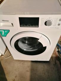 A+++ class 7kg 1200 spin Hisense washing machine